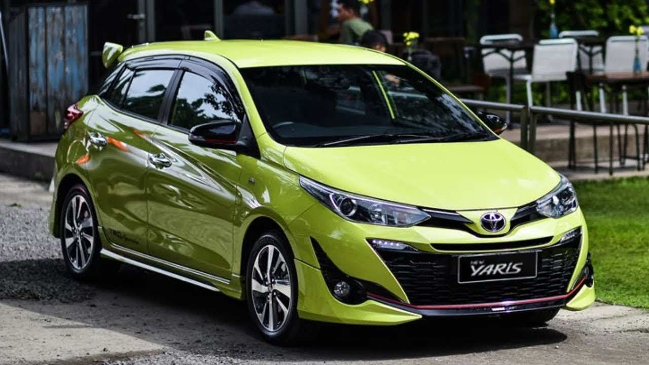 55 New 2020 Toyota Yaris Hatchback Concept And Review