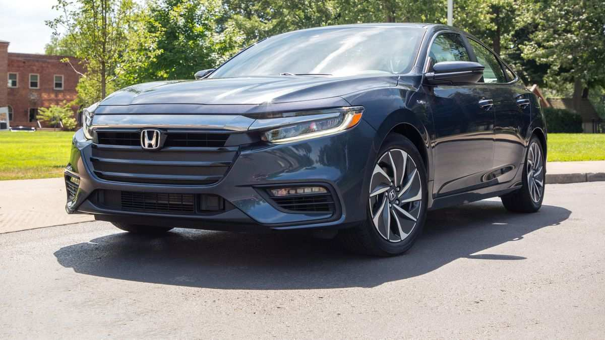 55 The 2019 Honda Insight Review New Review