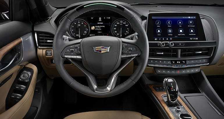 55 The 2020 Cadillac Ct5 Interior New Concept