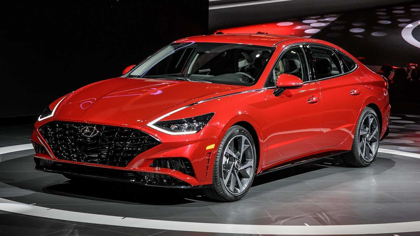55 The Best Hyundai New Sonata 2020 Specs And Review