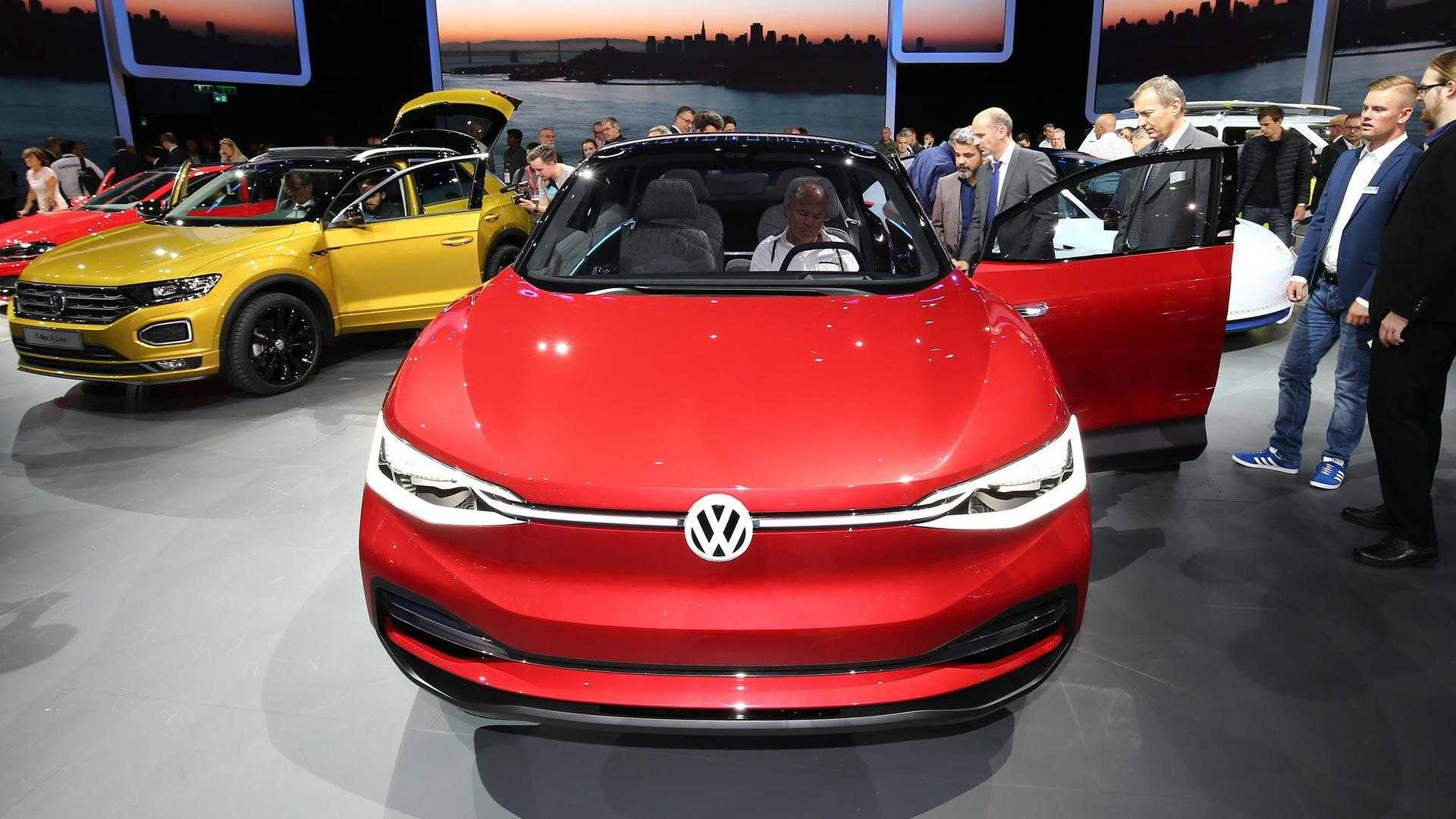 55 The Volkswagen I D Crozz 2020 First Drive