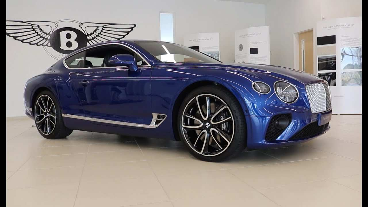 56 A 2019 Bentley Continental Release Date And Concept