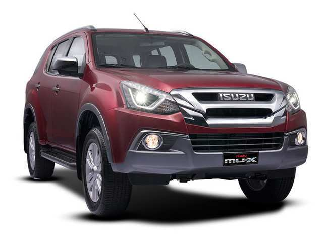 56 A 2019 Isuzu Mu X Photos