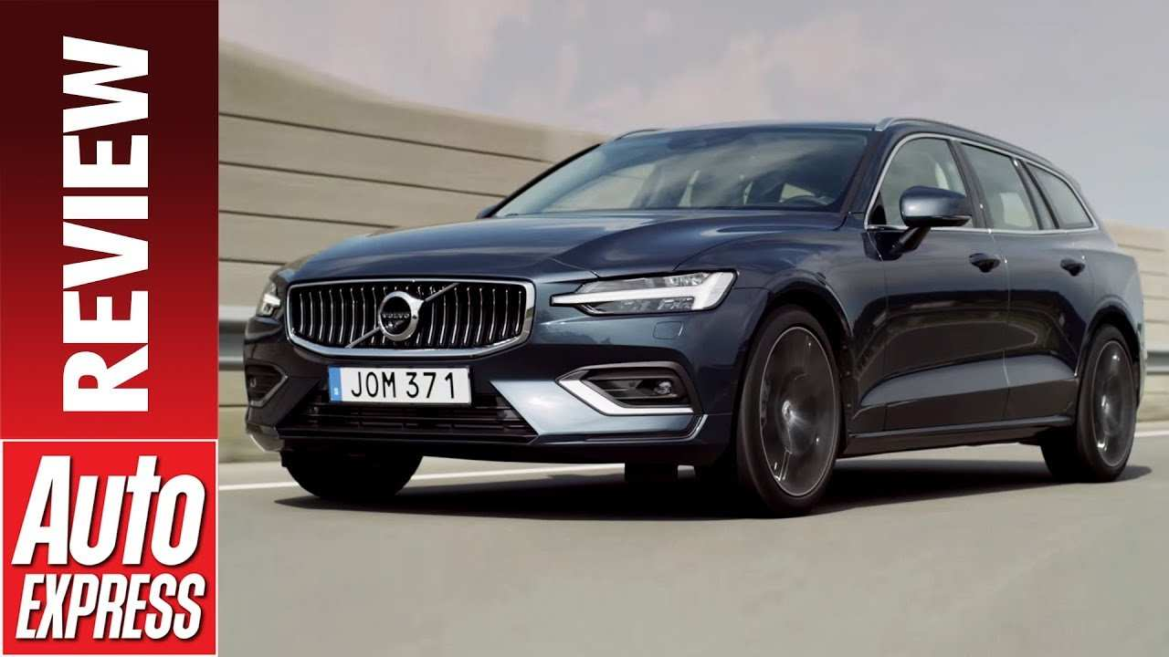 56 A New 2019 Volvo V60 Redesign And Review