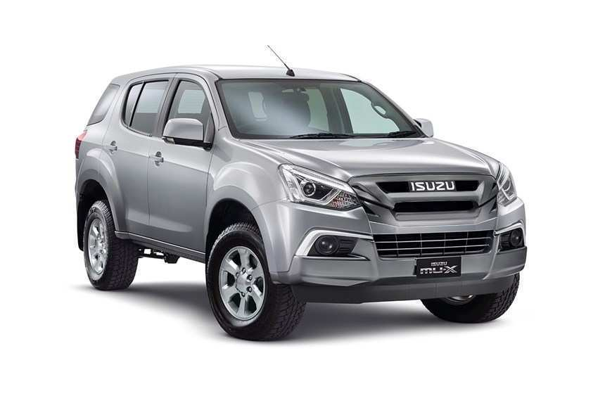 56 All New 2019 Isuzu Mu X Performance And New Engine