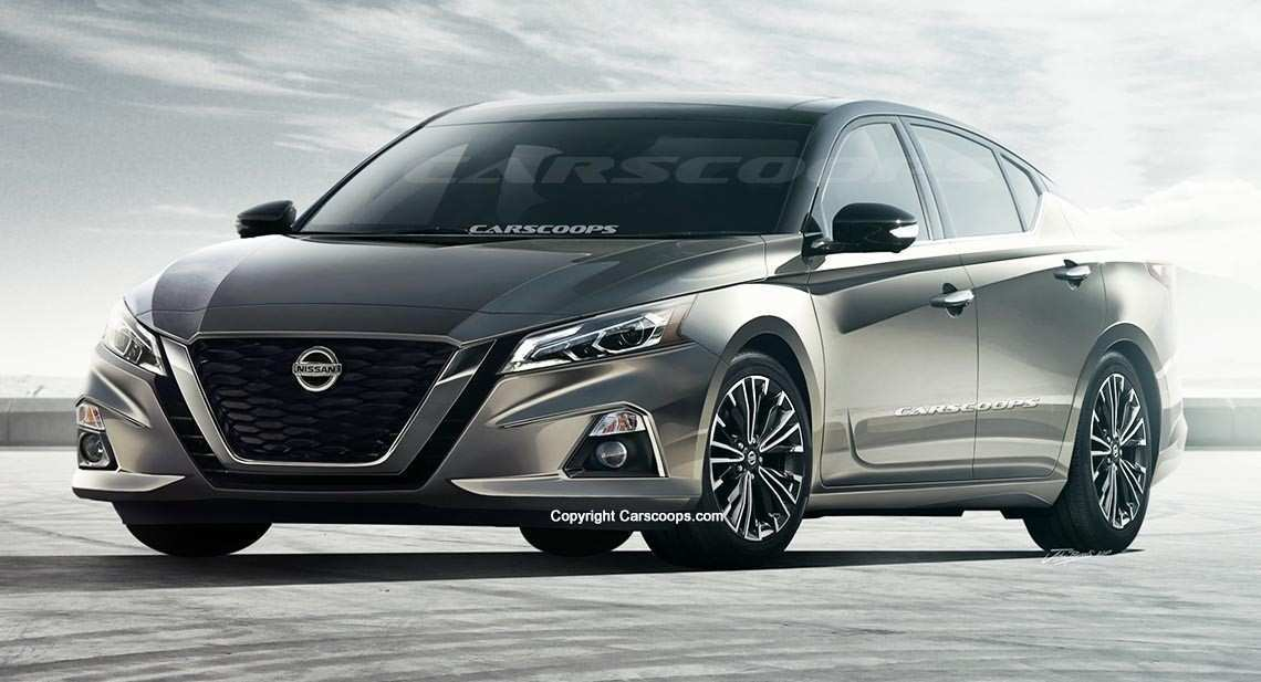 56 All New 2019 Nissan Altima Rendering Reviews