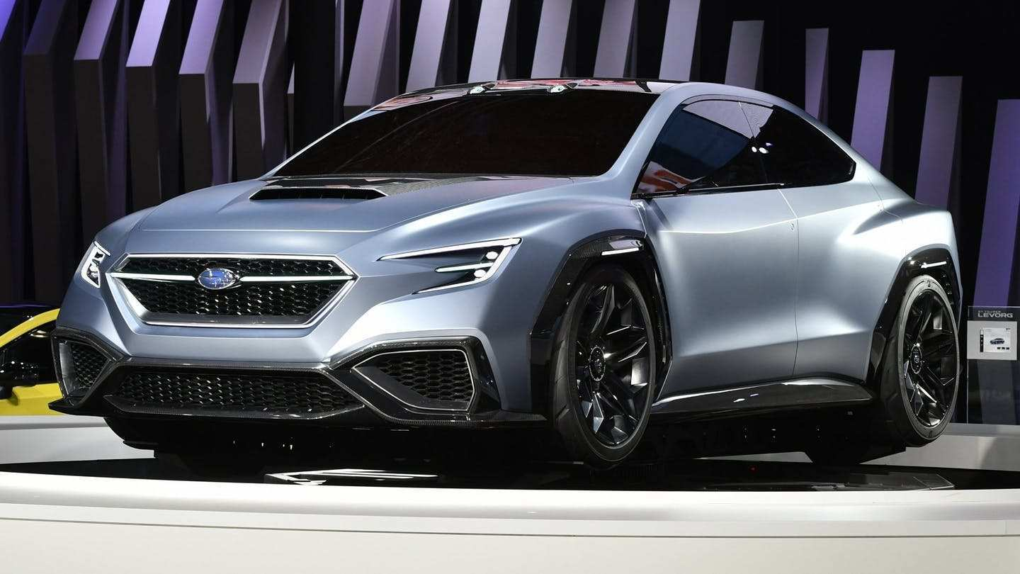 56 All New Subaru Sti 2020 Concept Model