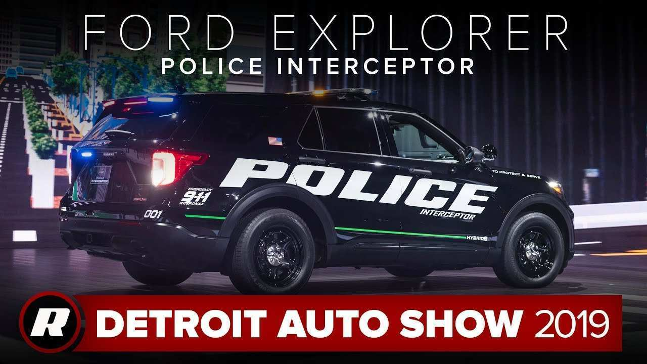 56 Best 2019 Ford Interceptor Suv Spesification