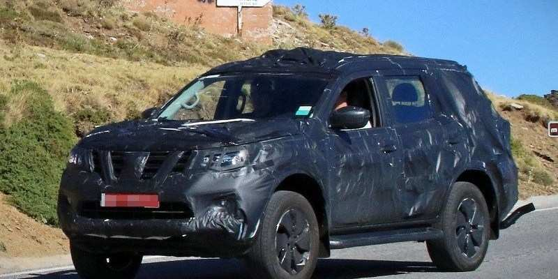 56 The Best 2019 Nissan Pathfinder Spy Shots Specs And Review