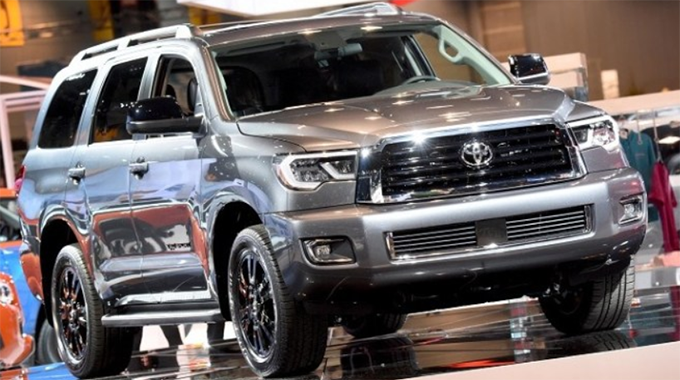 56 The Best 2020 Toyota Sequoia Spy Photos Exterior