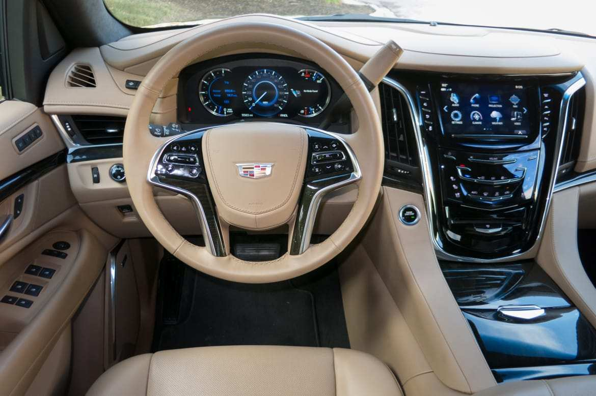 57 Best Interior Of 2020 Cadillac Escalade Review And Release Date