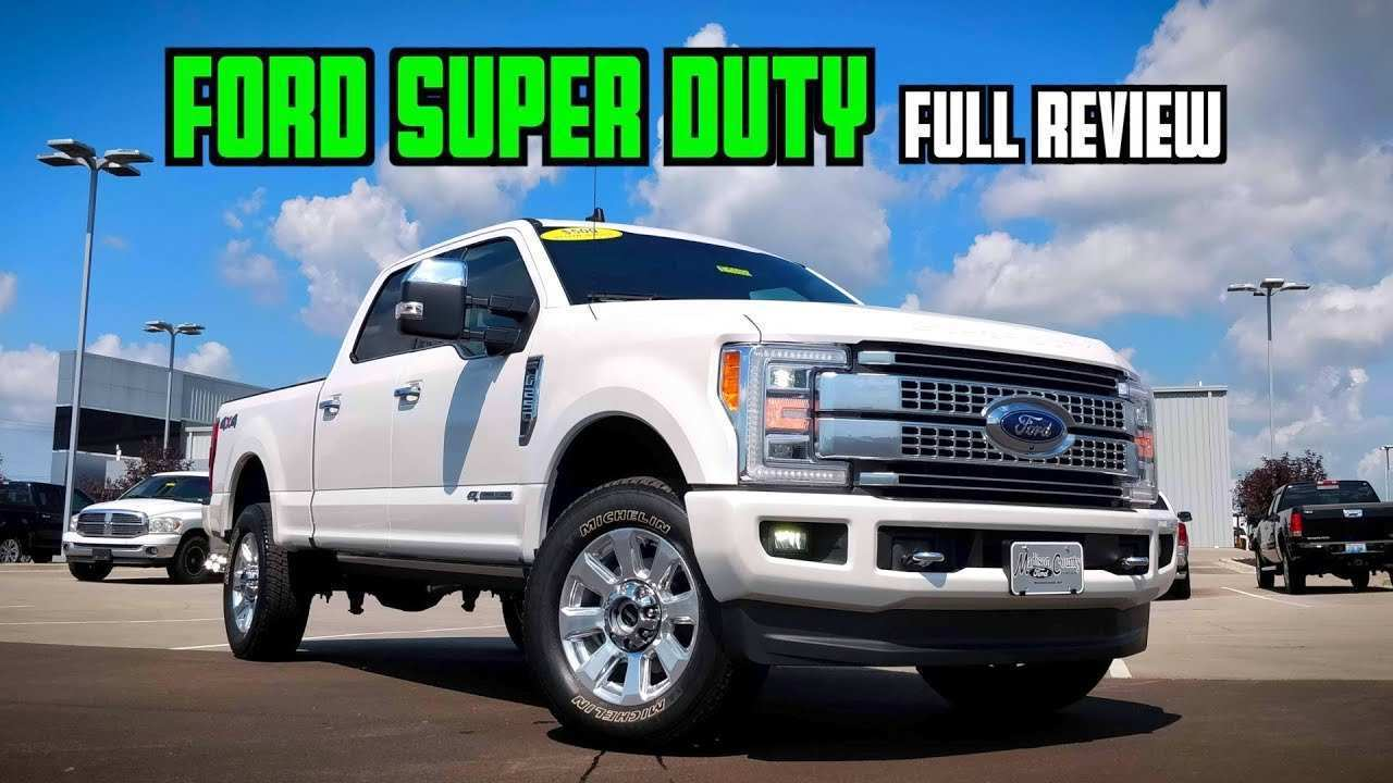 57 New 2019 Ford Super Duty Diesel Release Date