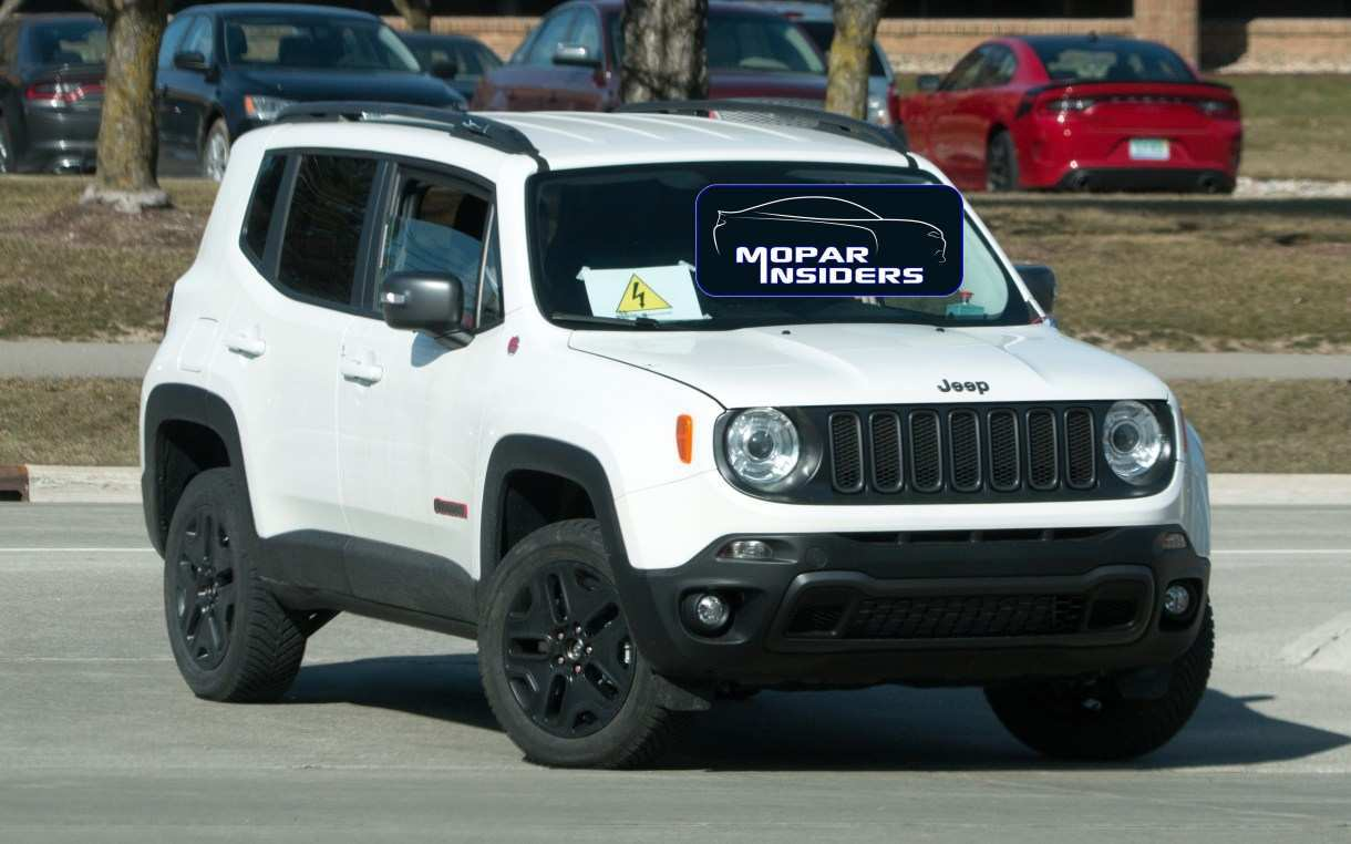 57 The Jeep Renegade 2020 Interior