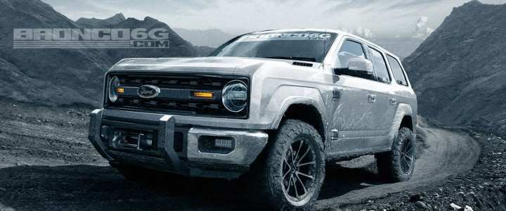 58 A 2020 Ford Bronco Interior New Model And Performance
