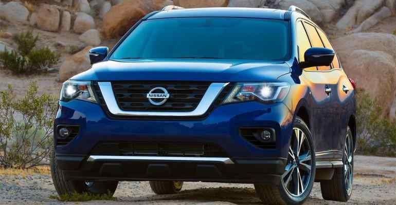 58 New 2019 Nissan Pathfinder Spy Shots Specs And Review