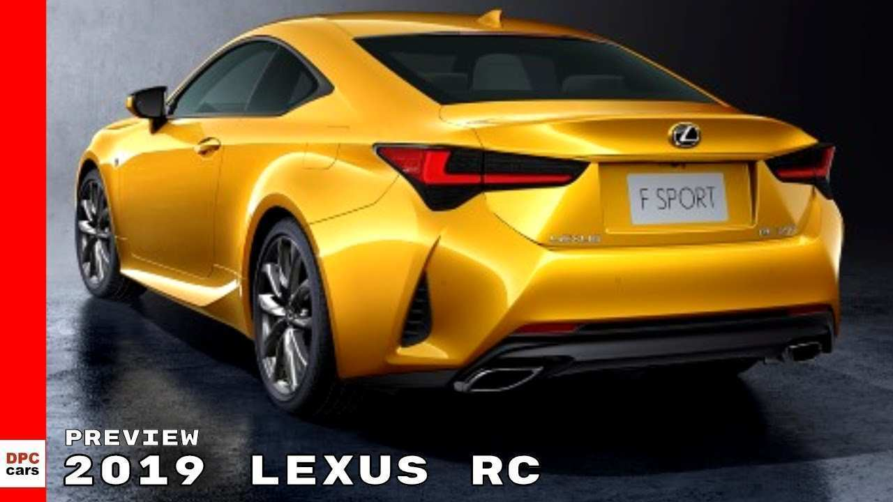 58 The Best 2019 Lexus Rc Concept And Review