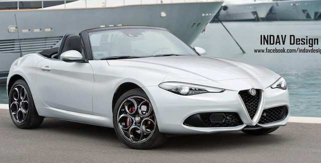 59 A 2020 Alfa Romeo Spider Redesign And Review