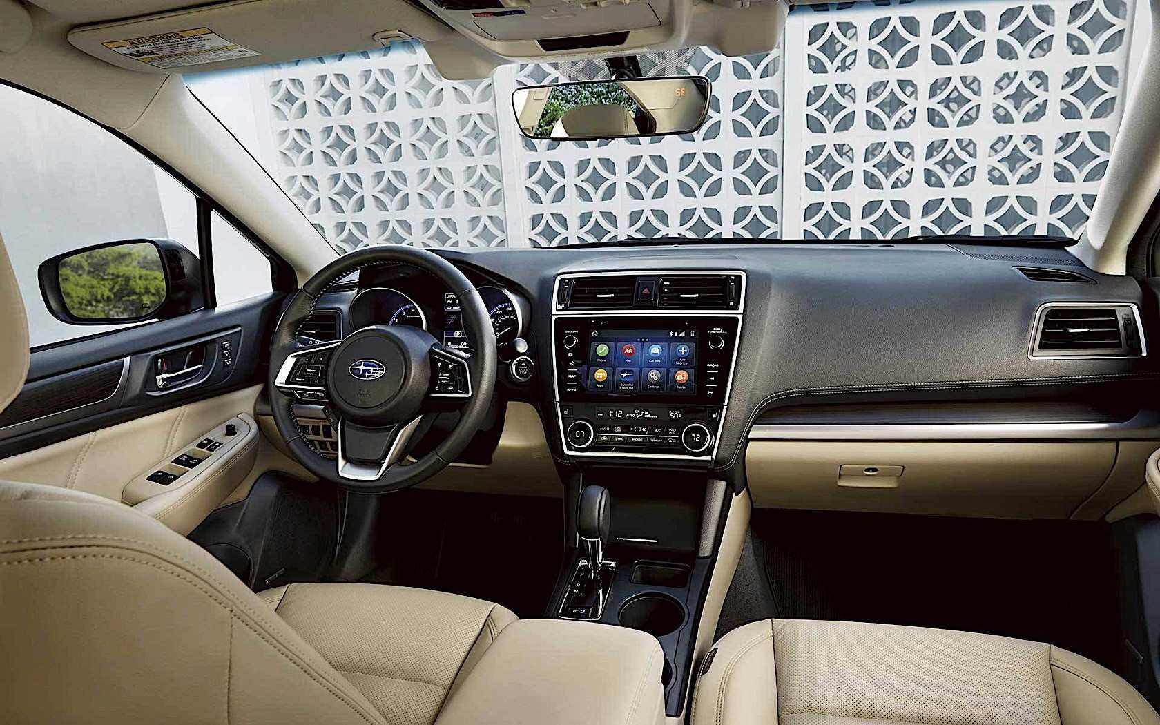 59 New Subaru Legacy 2020 Interior Price Design And Review