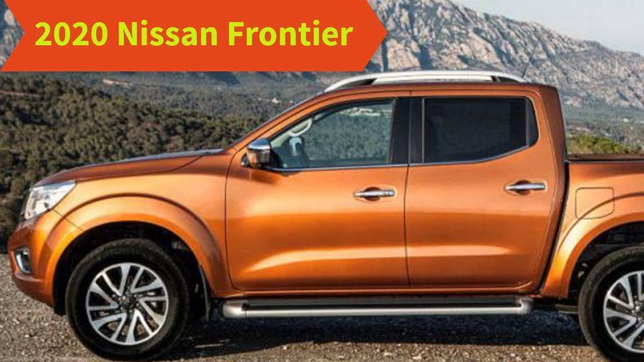 59 New When Will The 2020 Nissan Frontier Be Available Specs And Review