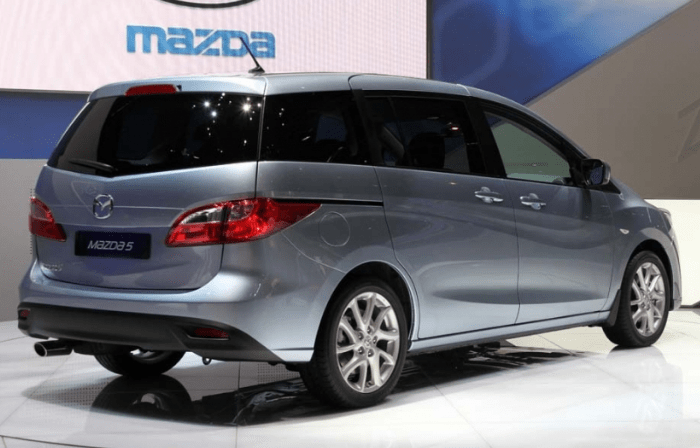 59 The Mazda Minivan 2020 Spesification