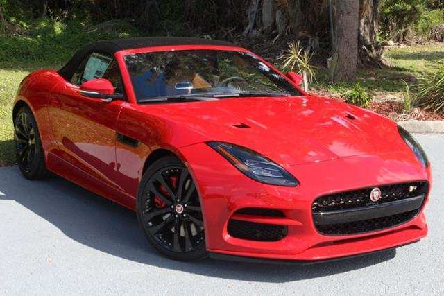 60 A 2019 Jaguar F Type Convertible Performance