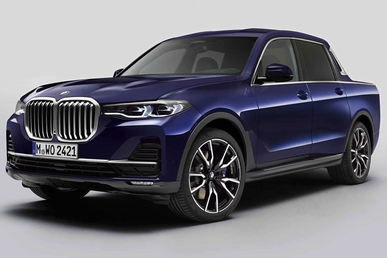 60 A 2020 Bmw Pickup Truck Overview