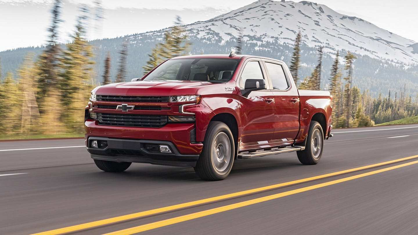 60 All New 2020 Chevrolet Pickup Truck Performance And New Engine