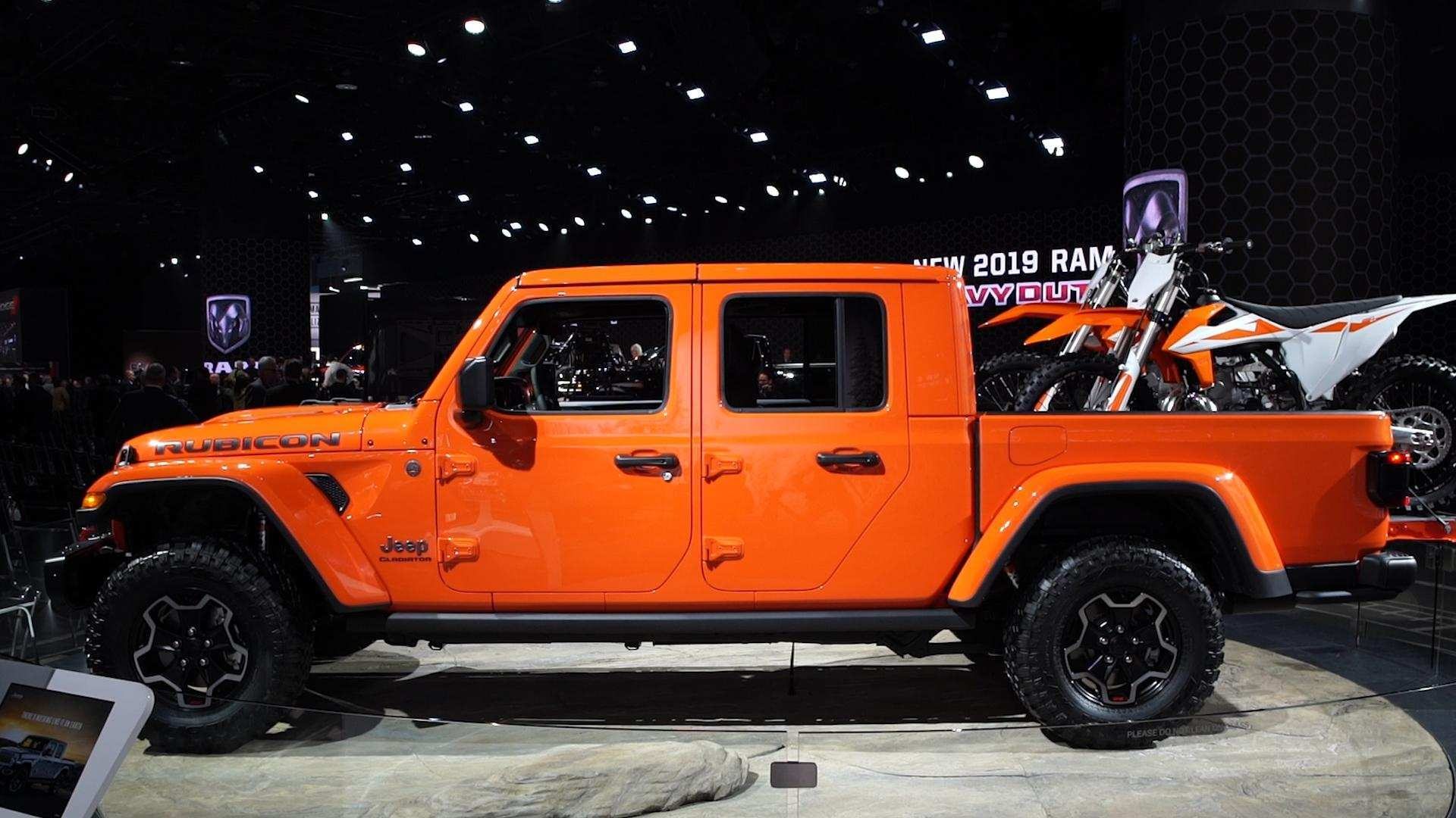 60 New How Much Is The 2020 Jeep Gladiator Interior