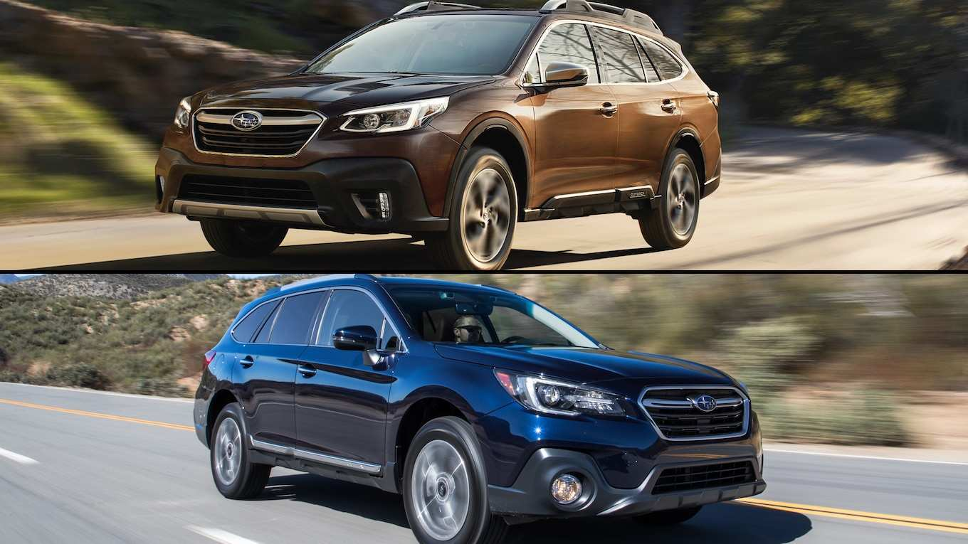 61 A Subaru Outback Update 2020 First Drive