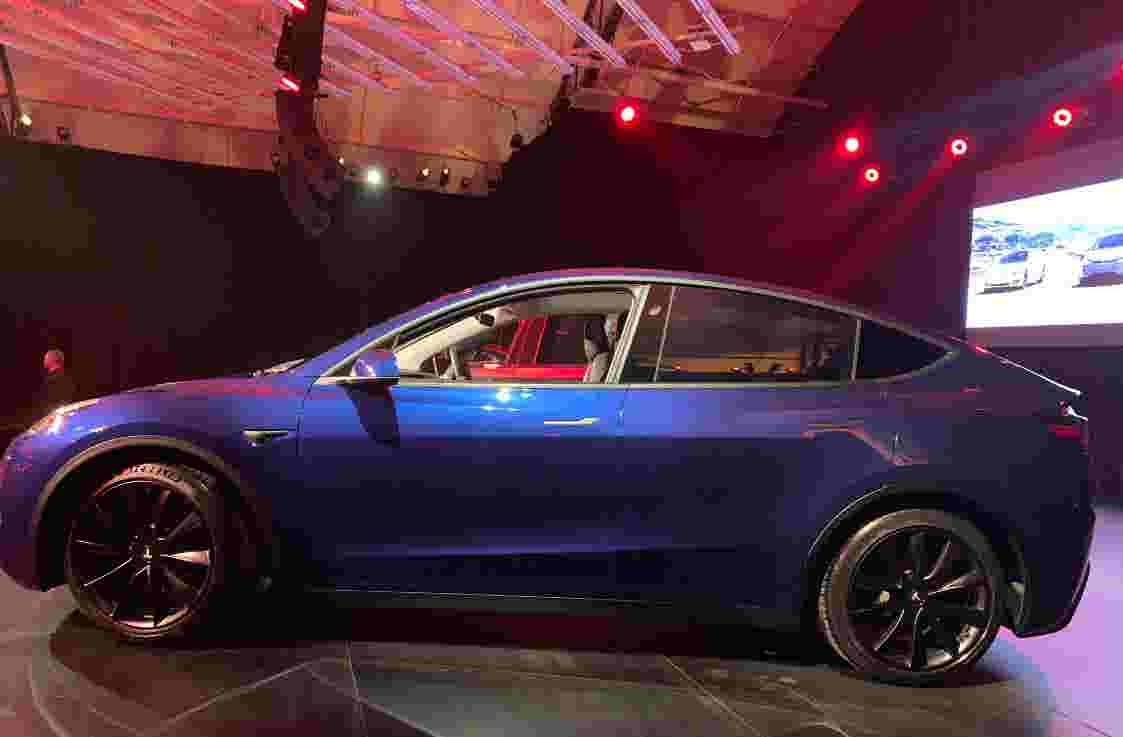 61 All New 2019 Tesla Model Y Interior
