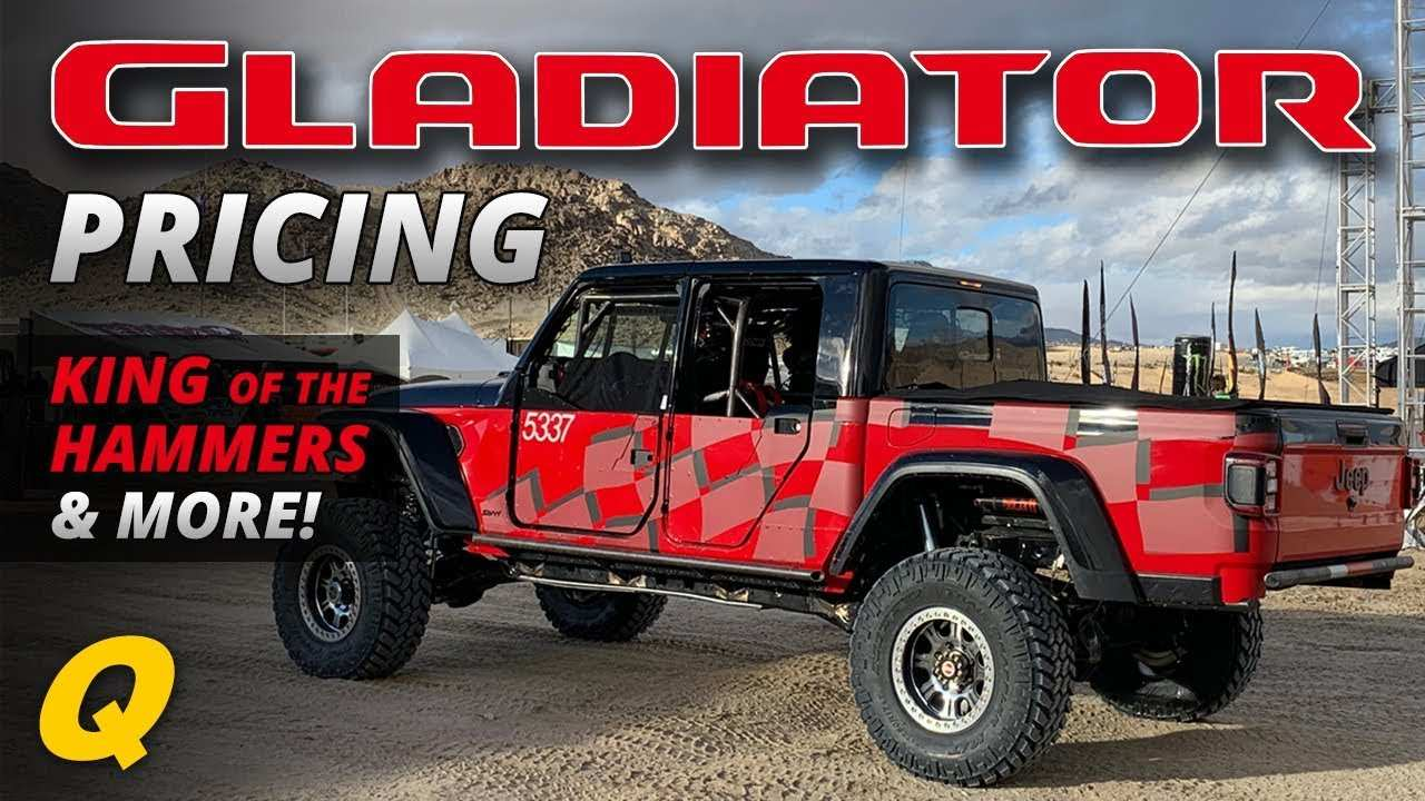 61 All New 2020 Jeep Gladiator King Of The Hammers Performance