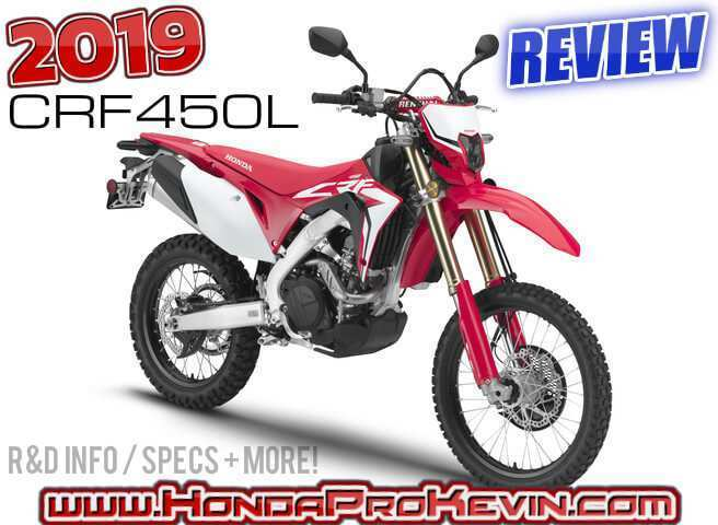 61 New 2019 Honda Crf450L Price And Review