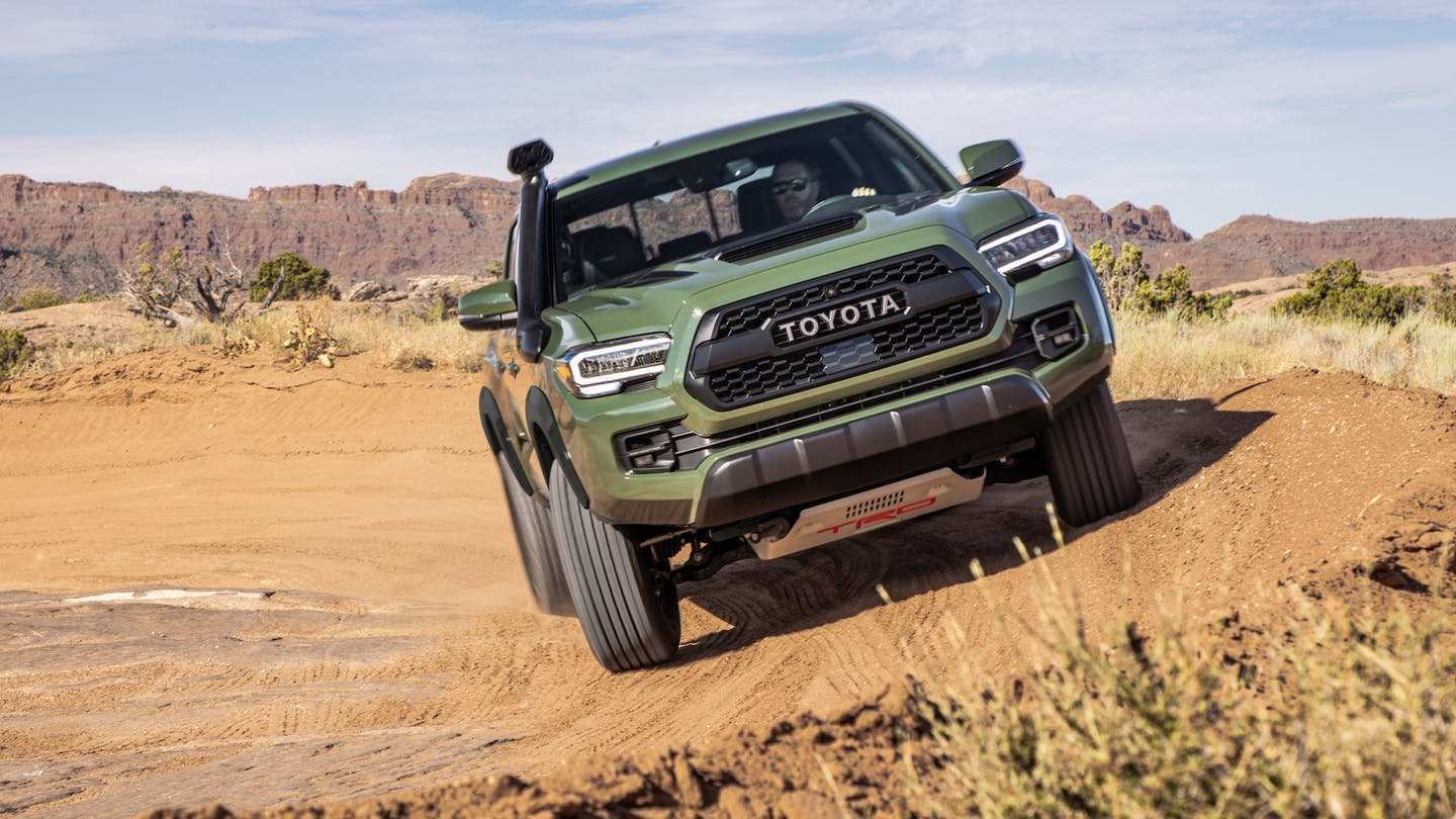61 New Toyota Tacoma 2020 First Drive