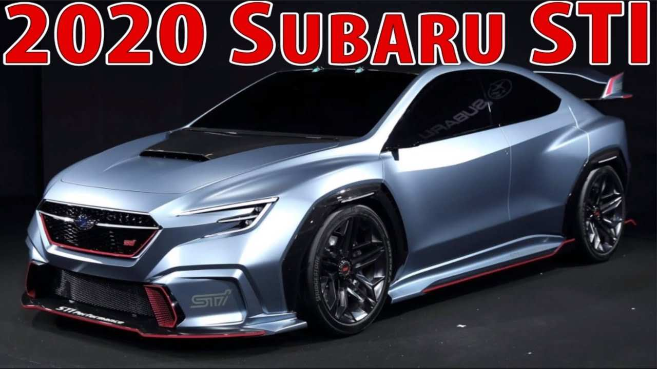 62 All New Subaru Sti 2020 Concept Specs