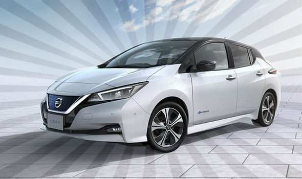 62 The 2019 Nissan Electric Car Exterior And Interior