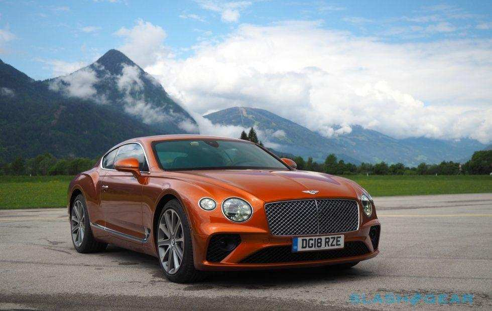 63 A 2019 Bentley Continental Performance And New Engine
