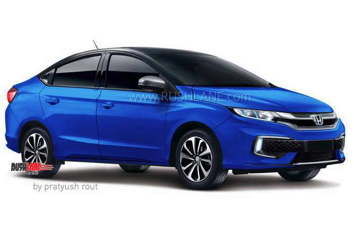 63 A Honda City Next Generation 2020 Configurations