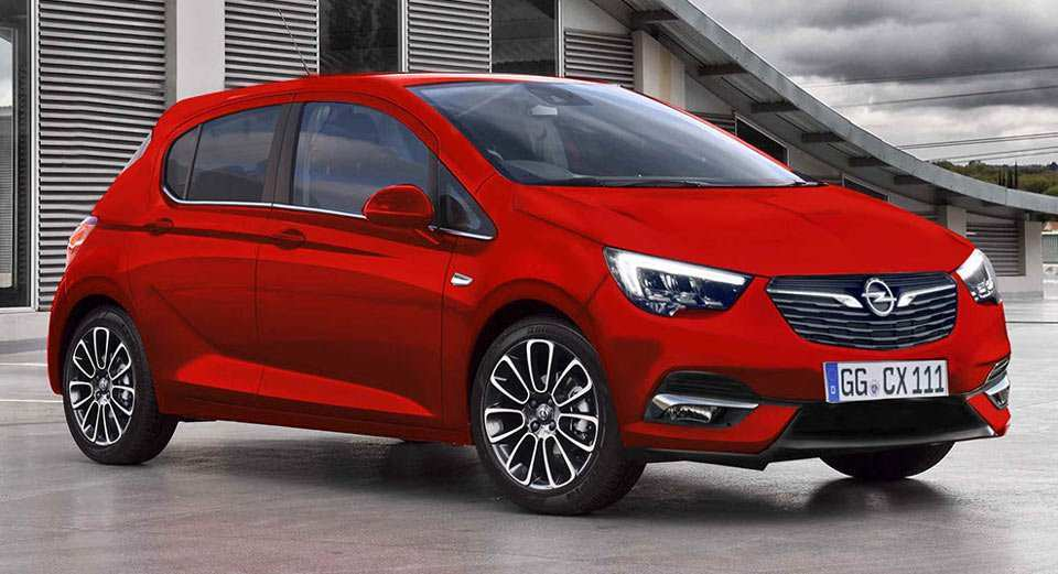 63 A Opel Corsa 2020 Rendering Exterior And Interior
