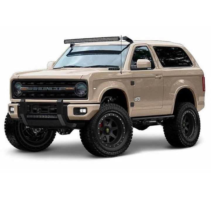 63 All New 2020 Ford Bronco Lifted Model