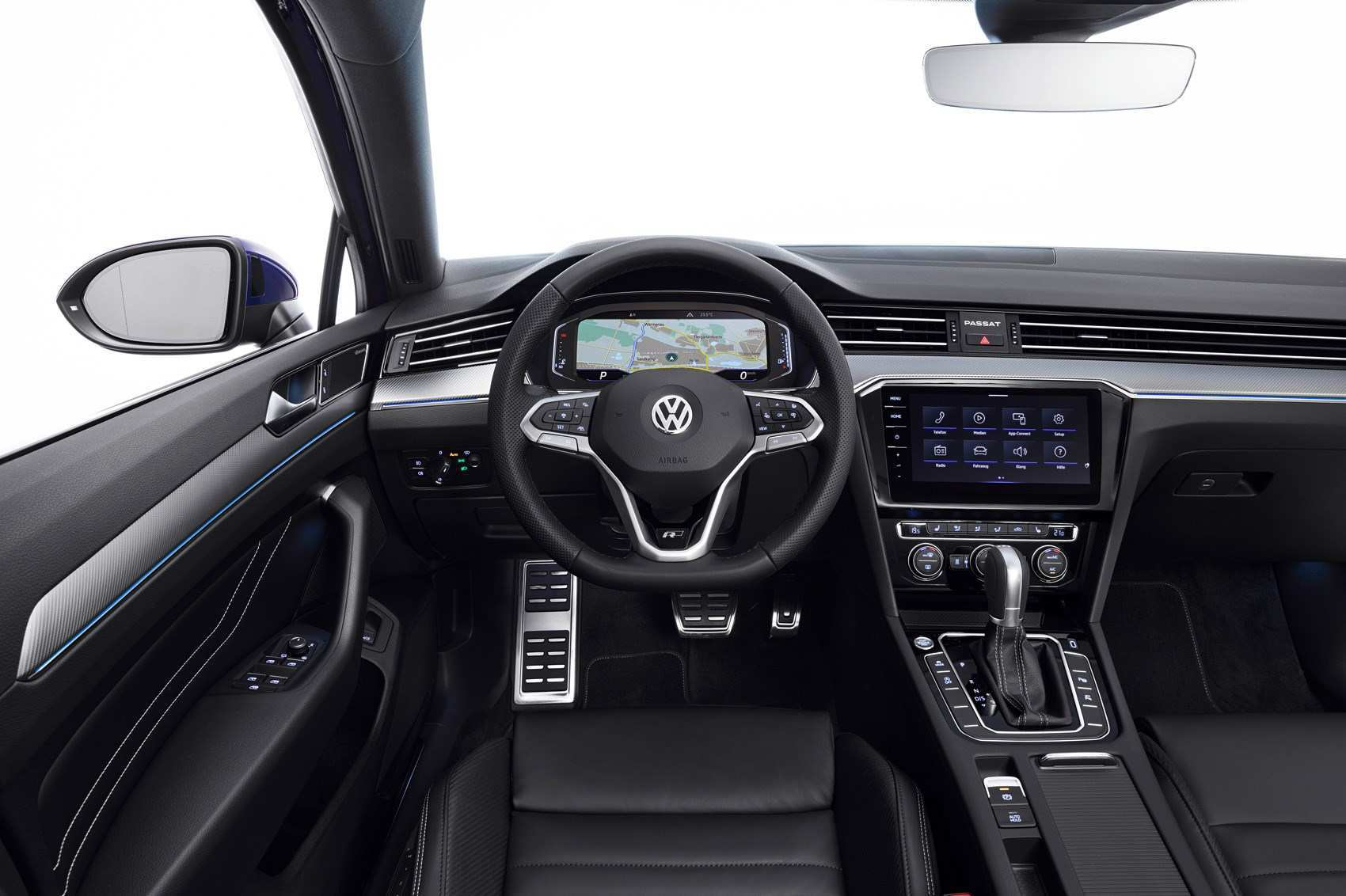 63 The 2019 Volkswagen Passat Interior Speed Test