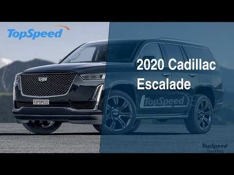 63 The Best 2020 Cadillac Escalade Reveal Pricing
