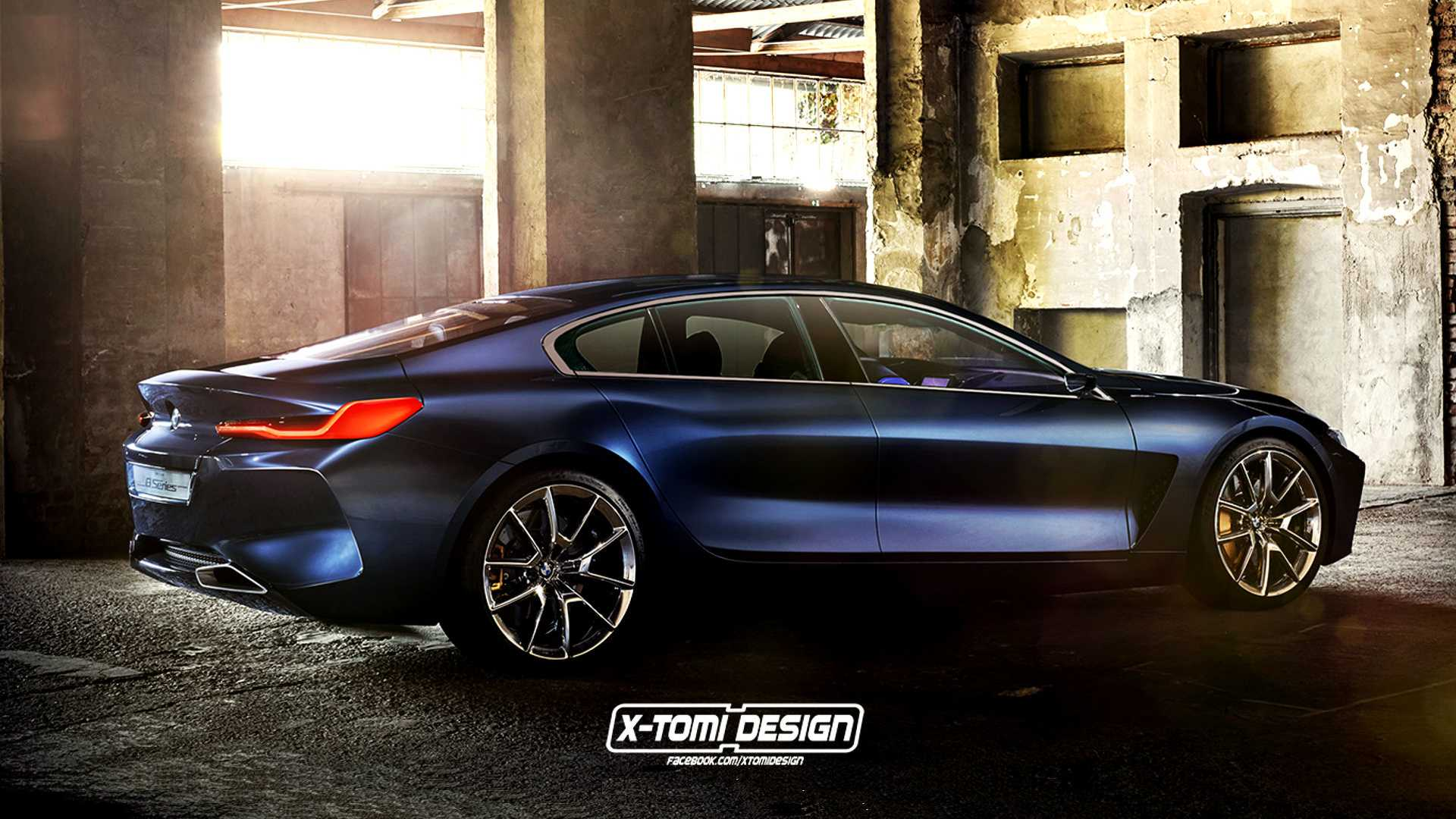 64 A 2019 Bmw 8 Series Gran Coupe Exterior