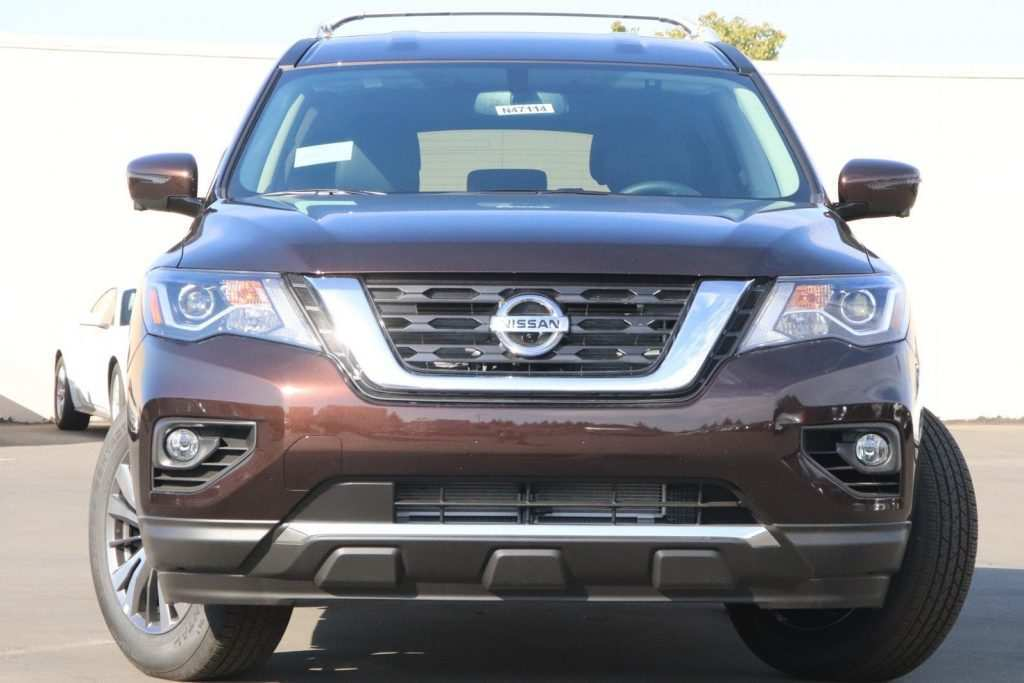 64 A 2019 Nissan Pathfinder Spy Shots Rumors