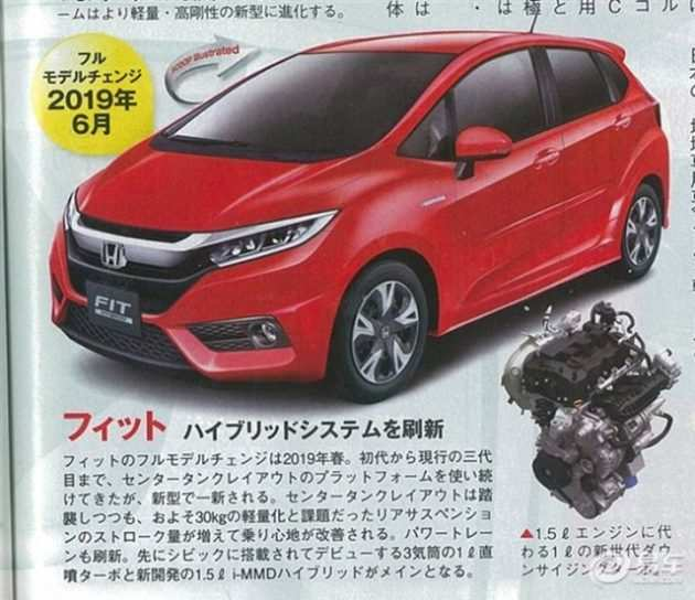 64 A 2020 Honda Fit Turbo Release