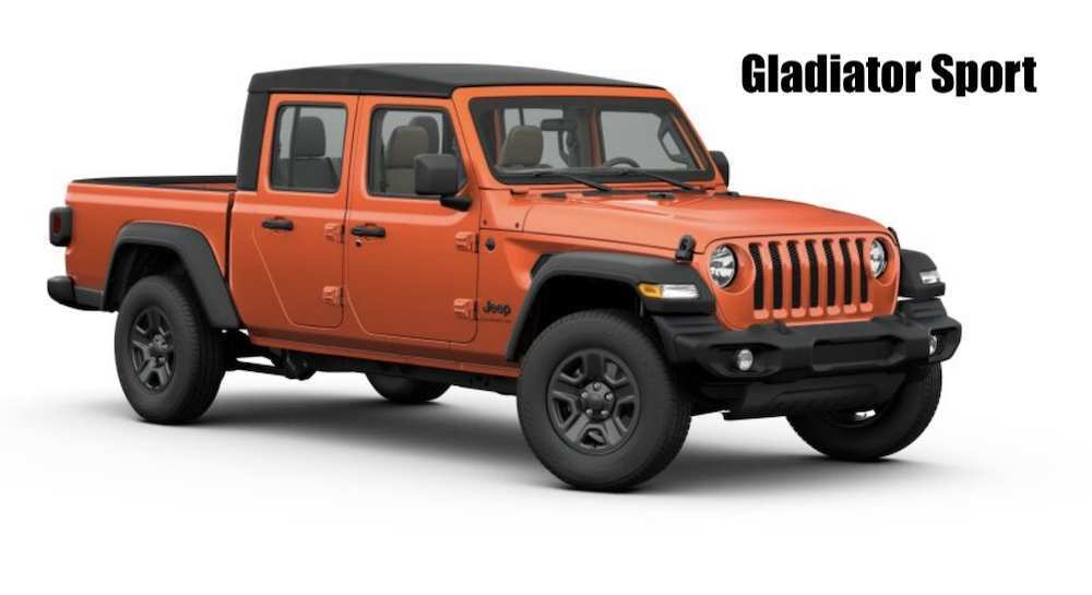 64 A 2020 Jeep Gladiator Color Options Redesign