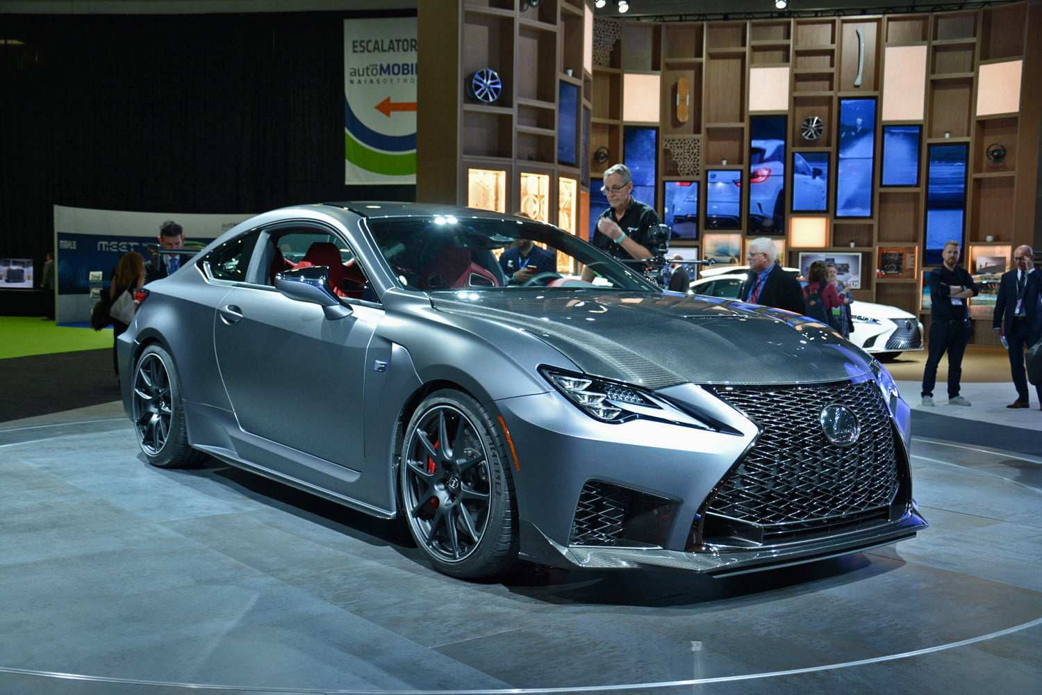 64 A Lexus Rc 2020 Review Engine