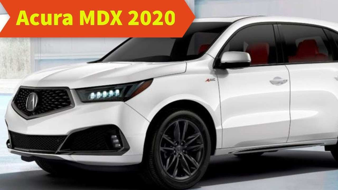 64 The Best Acura Mdx 2020 Model