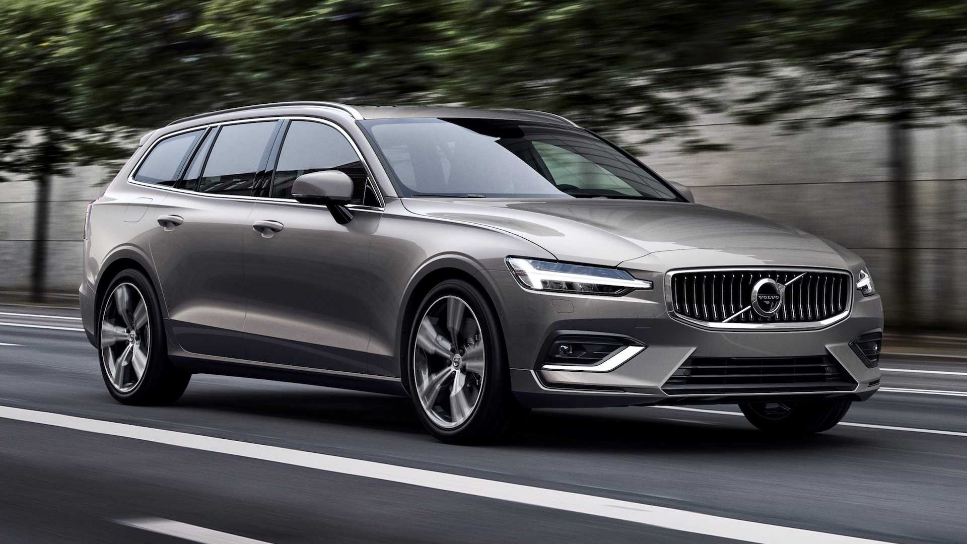64 The New 2019 Volvo V60 Ratings