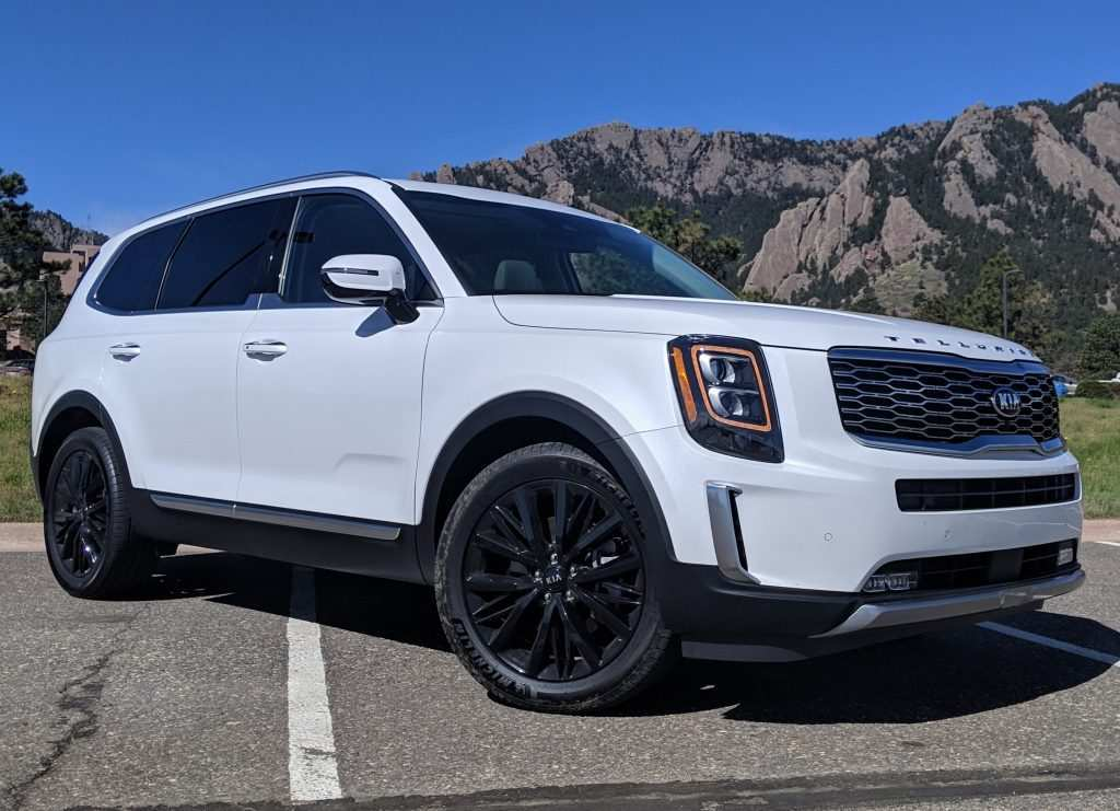 65 A 2020 Kia Telluride Youtube Model