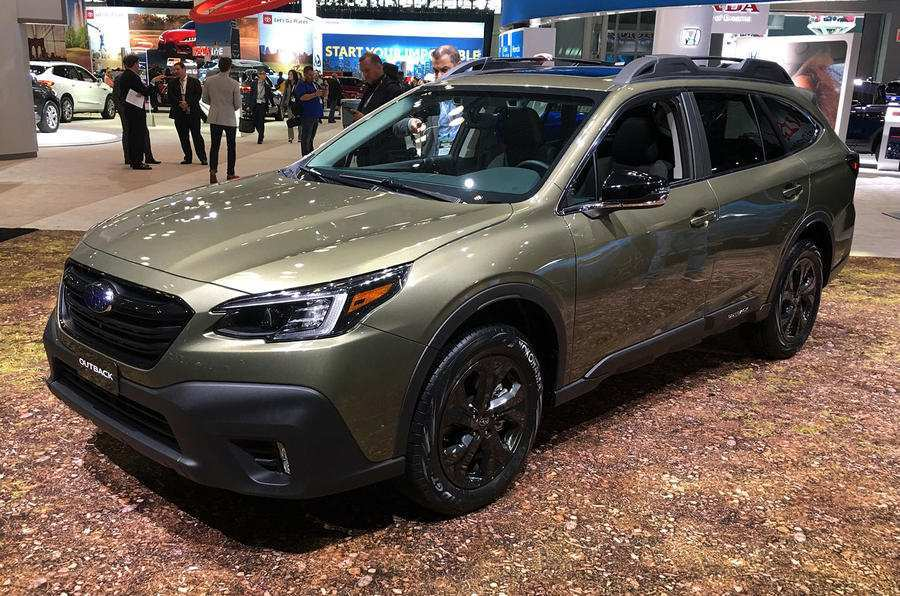 66 All New 2019 Subaru Outback Next Generation Concept And Review